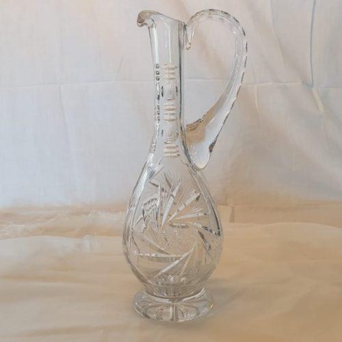 Karaf geslepen glas